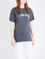 Stussy Smooth Stock logo-print cotton-jersey T-shirt