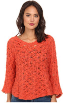 Free People Cowl Back Pullover