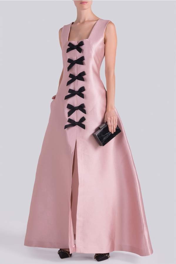 Alexis Mabille Black Bow Gown