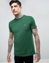 Lacoste Small Logo T-shirt Regular Fit In Green