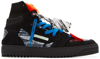 Off-White Black Off Court Sneakers