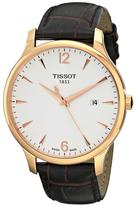 Tissot Tradition Collection T0636103603700 Men's Stainless Steel Analog Watch