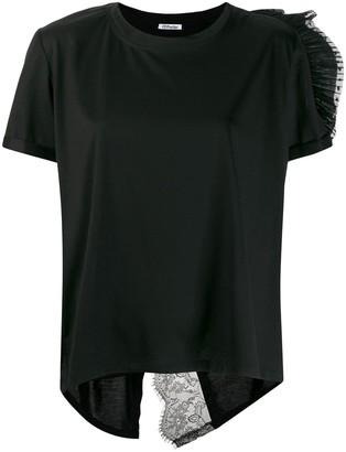 Parlor lace detail T-shirt