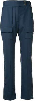 Eudon Choi Angelika straight-leg trousers