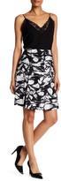 Yigal Azrouel Printed Fringe Apron Skirt