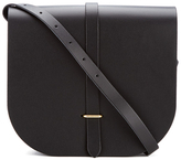 The Cambridge Satchel Company Women's Large Saddle Bag Black