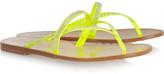 Pedro Garcia Zuriel Swarovski crystal-embellished coated-canvas sandals