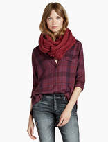 Lucky Brand Brushed Cable Loop Scarf
