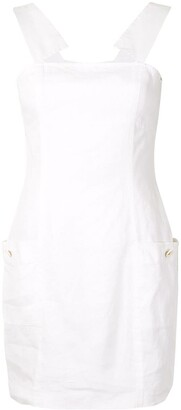 Chanel Pre Owned Sleeveless Shift Dress