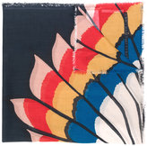 Stella McCartney printed scarf - women - Silk/Modal - One Size