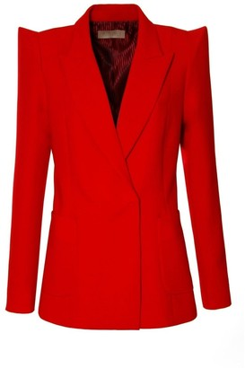 Aggi Samantha True Red Blazer