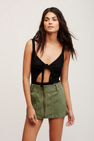 Free People Womens TOO COOL MINI SKIRT