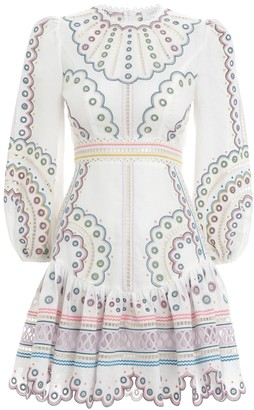 Zimmermann Peggy Multi Short Dress