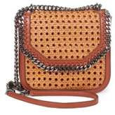 Stella McCartney Falabella Box Wicker Basket Crossbody Bag