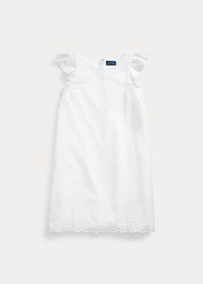 Ralph Lauren Eyelet Cotton Batiste Dress