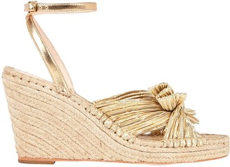 Loeffler Randall Charley Knotted Espadrille Wedges