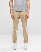 Polo Ralph Lauren Stretch Slim Fit Trousers In Beige