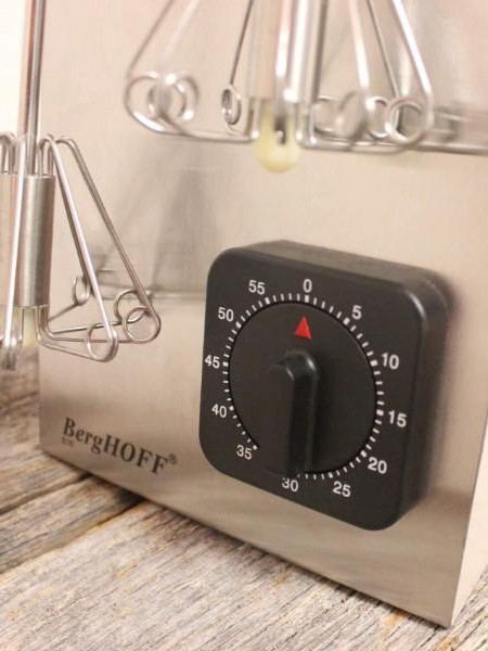 Thumbnail for your product : Berghoff SS Magic Whisk & Timer Set Red