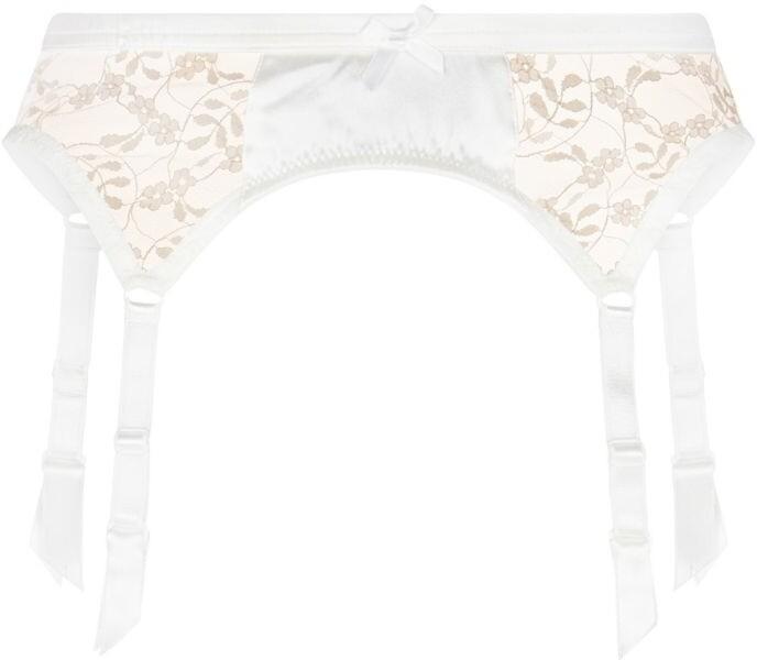 KATHERINE HAMILTON Sophia Silk Lace Suspender Belt