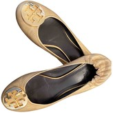 Tory Burch Gold Leather Ballet flats