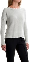 525 America Boxy Shaker Sweater - Cropped Length (For Women)