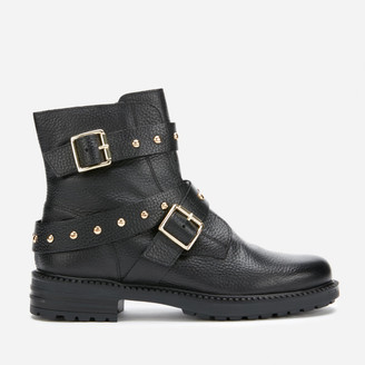 Kurt Geiger Women's Stinger Leather Biker Boots