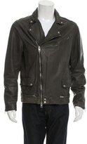AllSaints Akira Leather Biker Jacket