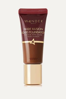 Wander Beauty Nude Illusion Liquid Foundation - Rich Deep