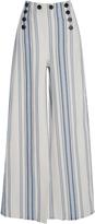 Lemlem Halima Striped Button Sailor Pant