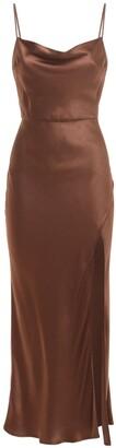 Bec & Bridge Valentina Satin Midi Dress