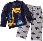 Carter's digger pajama set - baby