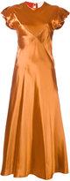 Roksanda side panel dress - women - Viscose/Silk - 8