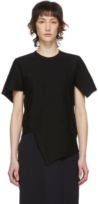 Comme des Garcons Black Diagonal Stitch T-Shirt