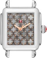 Michele Deco Mosaic Square Watch Head, 33mm x 35mm