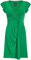 Adrianna Papell Matte Jersey Draped Dress