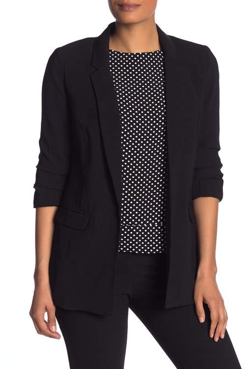Philosophy di Lorenzo Serafini Gathered 3\u002F4 Sleeve Blazer