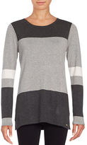 Calvin Klein Crewneck Colorblocked Sweater