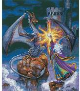 Dimensions Gold Counted Cross Stitch Kit - Magnificent Wizard