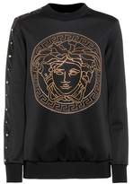 Versace Embellished long-sleeve top