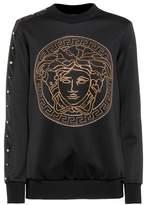 Versace Embellished long-sleeved top