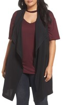 Plus Size Women's Rebel Wilson X Angels Drape Front Vest