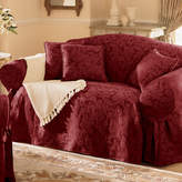 Sure Fit Sure FitTM Scroll Damask Loveseat Slipcover