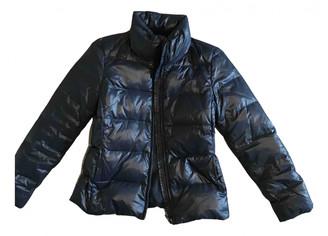 Benetton Blue Polyester Coats
