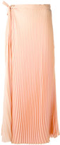 Haider Ackermann pleated long skirt - women - Polyester - 36
