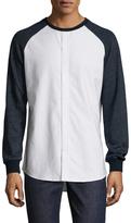 Shades of Grey by Micah Cohen Knit Hybrid Sweatshirt