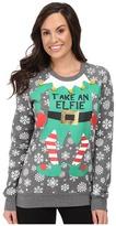 PJ Salvage Take an Elfie Holiday Sweatshirt