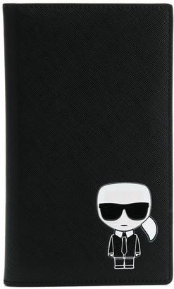 Karl Lagerfeld Paris K/Ikonik travel wallet