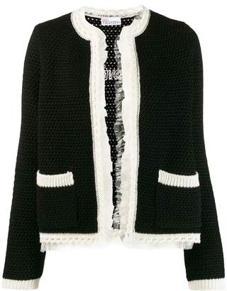 RED Valentino open front cardigan