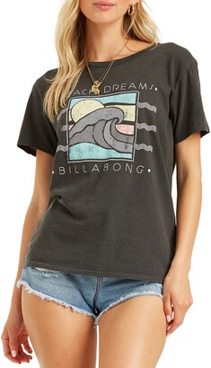Billabong Dreams Of The Beach Graphic Tee