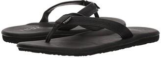 Flojos Claire (Black) Women's Toe Open Shoes